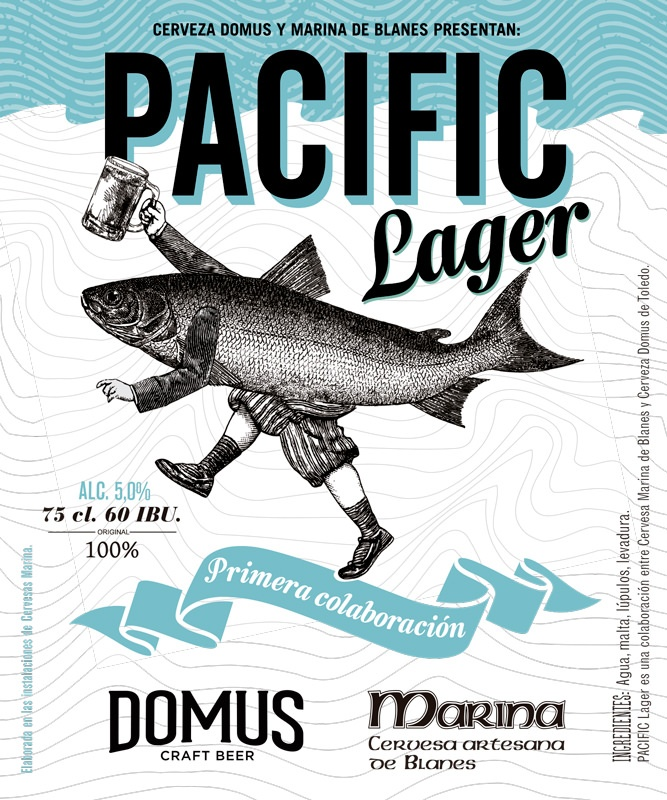 Cerveza Pacific Lager - Domus Craft Beer + Marina