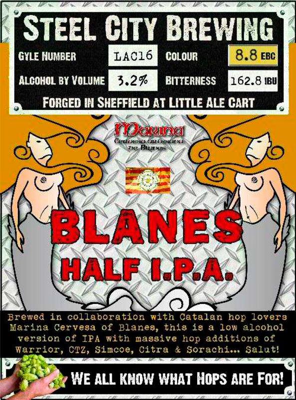 Cerveza Blanes Half Ipa