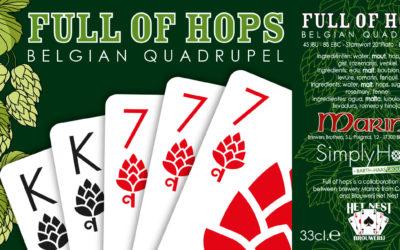 Full of Hops Quadrupel: Brouwerij Het Nest + Marina