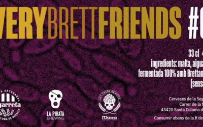 Very Brett Friends: Segarreta + La Pirata Brewing + Marina